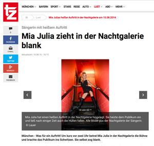 Mia Julia, tz-online, 16.08.2016