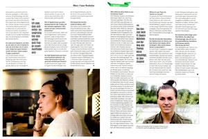 Viktoria Schnaderbeck, FFussball Magazin, November / Dezember 2014