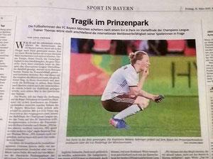 Melanie Behringer, Süddeutsche Zeitung, 31.03.2017