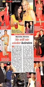 Annabelle Mandeng, Freizeit Revue 24/2013