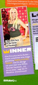 Daniela Katzenberger, Bravo 51/11