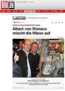 Fürst Albert von Monaco, Bild.de