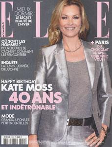 ELLE MAGAZINE - CONSOLE CHIMNEY - JANUARY 2014