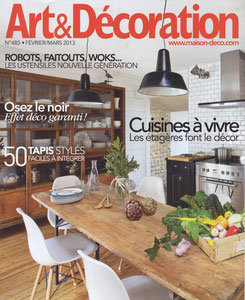 ART & DECORATION < PORTRAIT - FEBRUARY 2013