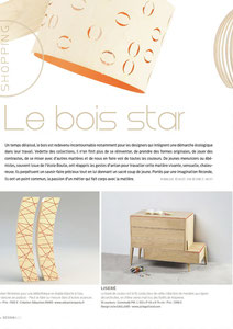 LA SEMAINE MAGAZINE - COMMODE LISERE COLLECTION < MARCH 2014