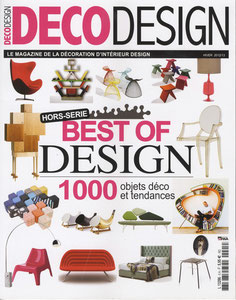SPECIAL ISSUE - DECO DESIGN  MAGAZINE , TABLE ROMAN < JANUARY 2013