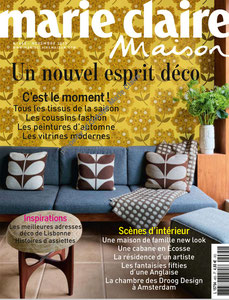 MARIE CLAIRE MAISON - SHELVES LISERE COLLECTION - NOVEMBER 2013