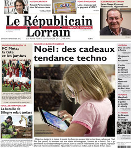 REPUBLICAIN LORRAIN MAGAZINE < WISHBONE - MAGNETIC SALAD SERVER - 10th NOVEMBER 2013