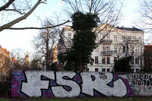 Friedrich-Wilhelm-Platz in Friedenau. Foto: Helga Karl