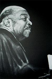 Count Basie,Pastellkreide,90x60 cm
