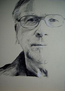Klaus Doldinger,Graphit,70x50 cm