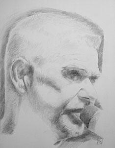 Achim Reichel ,Bleistift,57x74 cm
