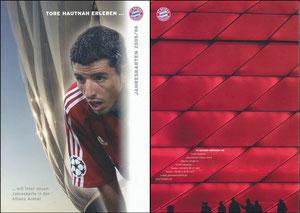 Allianz Arena, 2005, Maakay, 'Jahreskarte', A4-Booklet