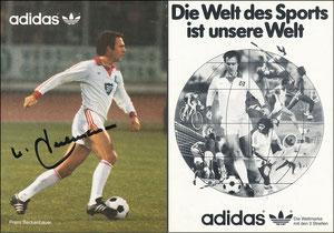 Beckenbauer, 1980, Adidas 'HSV'