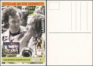 Beckenbauer, 2008, 'Deutsches Fussballmuseum'