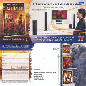 Ballack, 2008, Samsung TV 'TV Direkt', Klappfolder