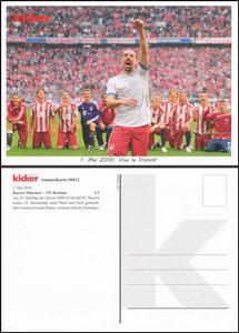 Kicker Sammelkarte 12b, Ribery