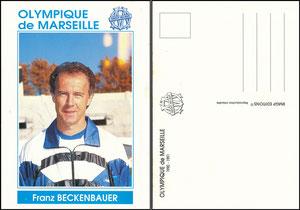 Beckenbauer, 1990, Olympique Marseille