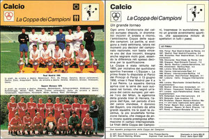'Europapokal', Italien, 1977, 833-10, Dank an SF Hermann
