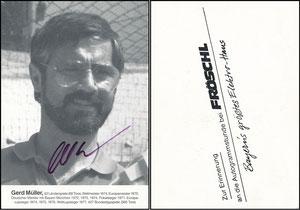 Müller, Gerd, 1982, Fröschl