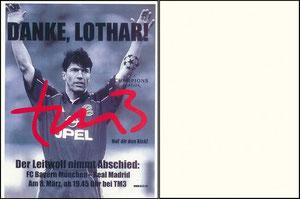 Matthäus, 2000, tm3, Abschiedsspiel 'Bayern München - Real Madrid'