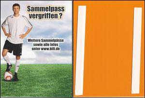 Müller, Thomas, 2011, Bifi Sammelpass, Regalfach-Aufsteller