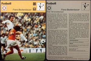 'Beckenbauer', Schweden, 1977, 47-021-06-13, Dank an SF Hermann