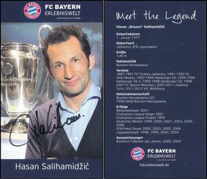 Bayern Erlebniswelt, 2015, 'Meet the Legend', Salihamidzic