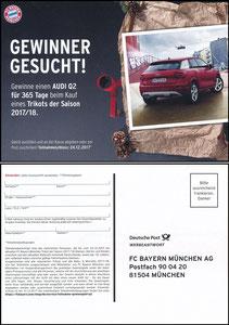 FanShop, 2017, Gewinnspiel 'Audi Q2'