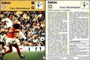 'Beckenbauer', Italien, 1977, 833-06