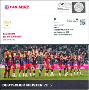 FanShop, 2015, Dialogpost 'Deutscher Meister 2015'