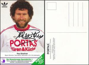 Breitner, 1980er, Portas 'Der Renovierungsspezialist Nr 1', grüne Ecke