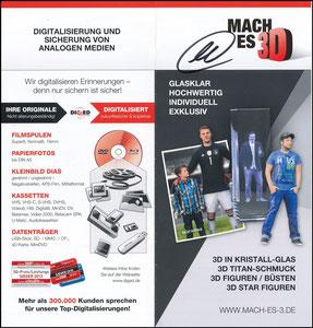 Neuer, 2016, 'Mach-es-3D', Flyer, signiert Neuer
