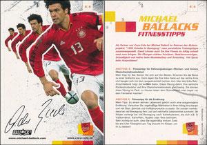 Ballack, 2005 CocaCola '1000 Schulen in Bewegung' 4-4
