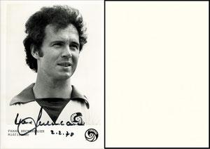 Beckenbauer, 1978, Cosmos NY, Dank an SF Sven