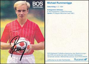Rummenigge, Michael, 1984, BOS