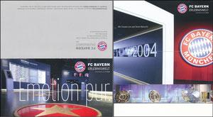 Bayern Erlebniswelt, 2014, 'Emotion pur', Klappkarte