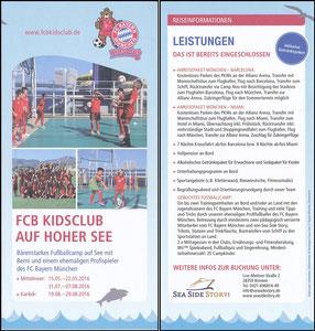 Berni, KidsClub 'Auf hoher See' 2016