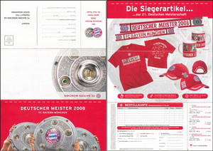 FanShop, 2008,  'Siegerartikel Deutscher Meister 2008'