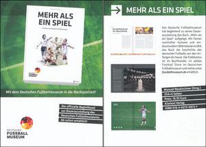 DFB, 2016, 'Deutsches Fußballmuseum', Buchpromotion