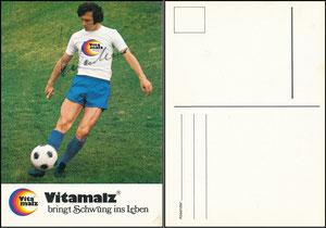 Beckenbauer, 1974, Vitamalz, Standard-Motiv, ohne Druck-AG