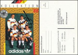 Beckenbauer, 1988, DFB-Kollektion, Gemeinschaftskarte