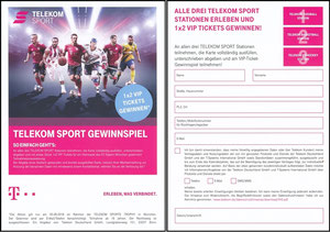Telekom, 2018, Gewinnspiel 05'2018