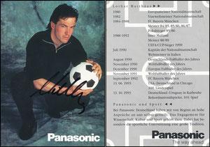 Matthäus, 1992, Panasonic, Motiv 2