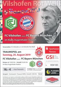 Augenthaler, 2019, 'Traumspiel', Klaus-Augenthaler-Stadion Vilshofen