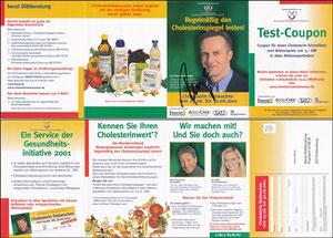 Rummenigge, 2001, 'Gesundheitsinitiative', Klappkarte