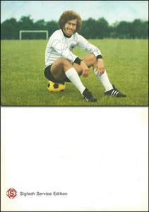 Breitner, 1974, Sigloch, Rückseite ohne Werbetext