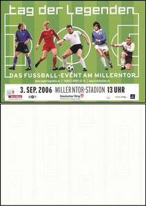 Beckenbauer, 2006, 'Tag der Legenden', Aufkleber