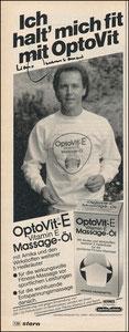 Beckenbauer, 1980, Optovit, Zeitungswerbung