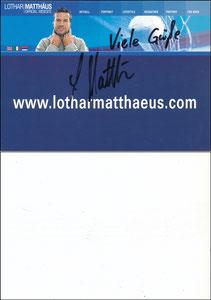 Matthäus, 2001, 'Website'